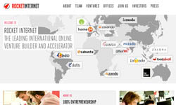 Rocket Internet mit neuer Webseite und mehr Transparenz