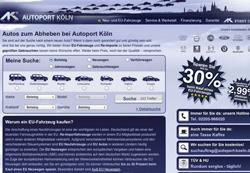 Autoport Köln startet durch – Der Spezialist für EU Fahrzeuge