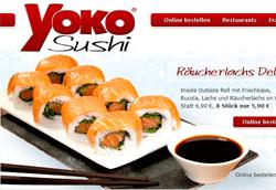 Yoko – Sushi Lieferservice der Extraklasse