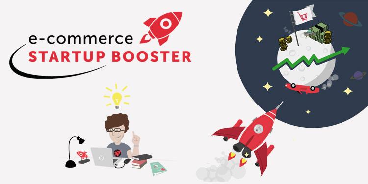 Jeden Monat wertvolle Preispakete aus Know-how und Tools für bis zu vier E-Commerce-Startups